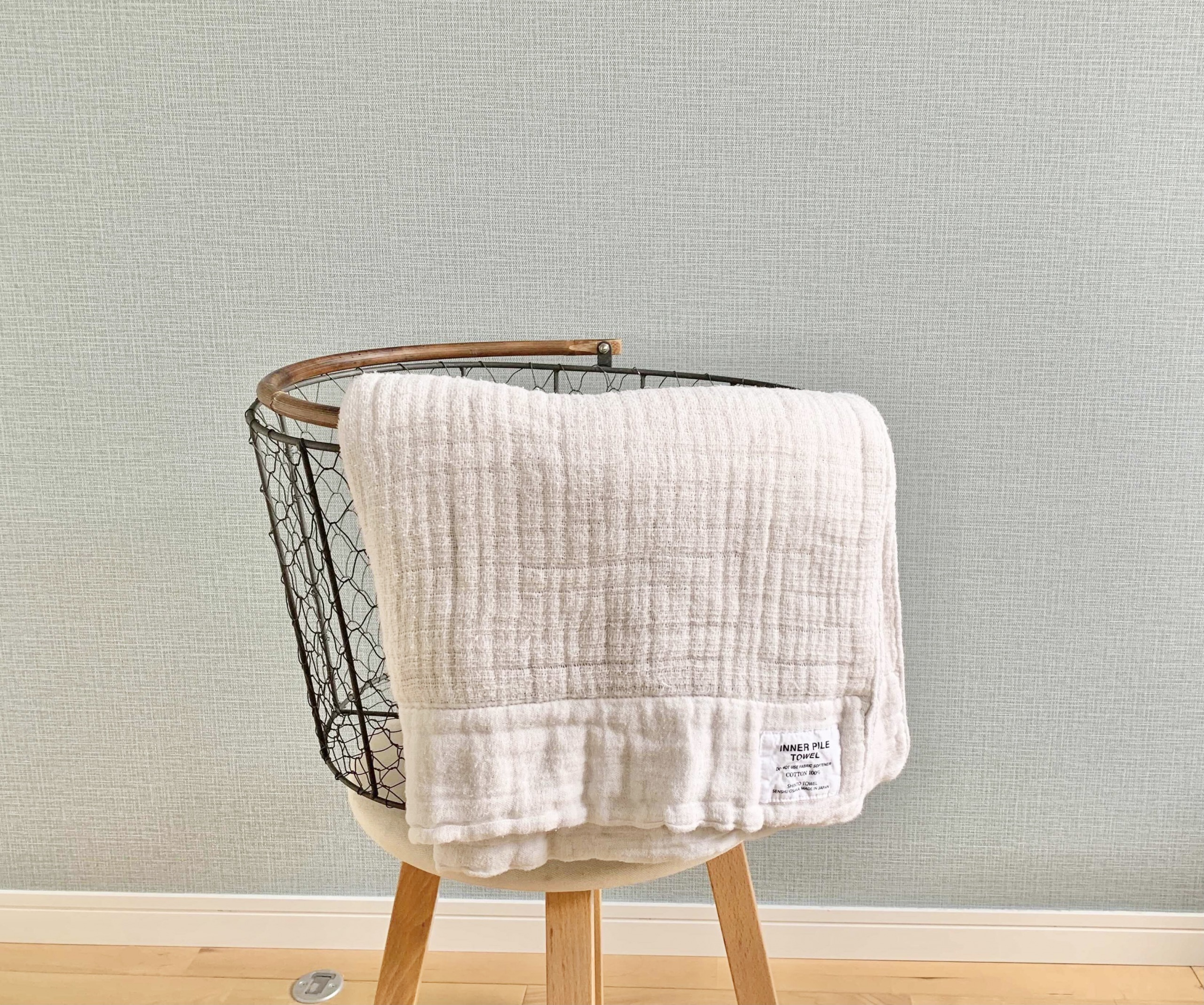 洗濯しても柔らかさが長持ち。肌触りが気持ちいい神藤タオルのインナーパイルバスタオル