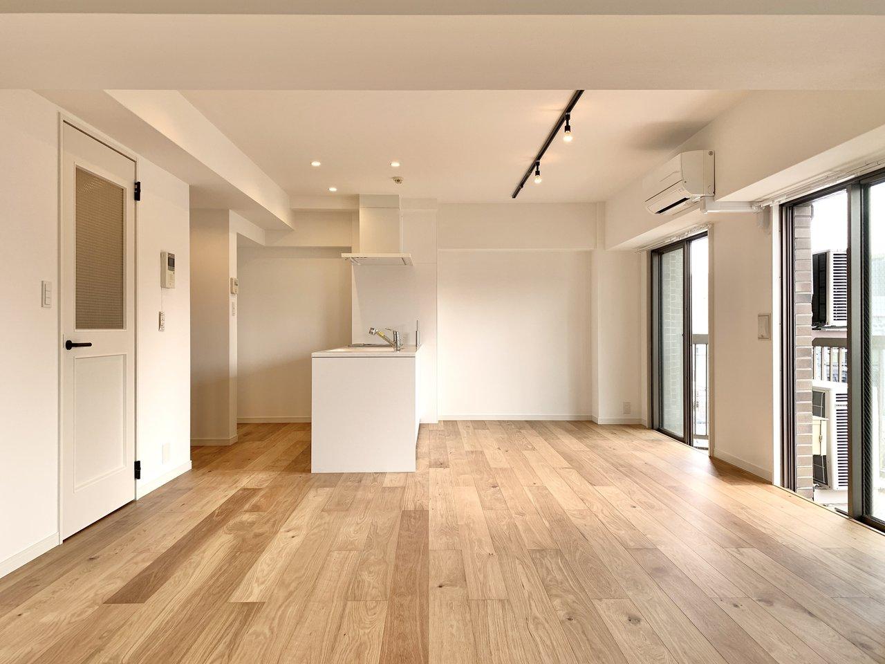 福岡・薬院のヴィンテージマンション。メリハリのある暮らしが実現できそうな80㎡超えのリノベーションルームが誕生です