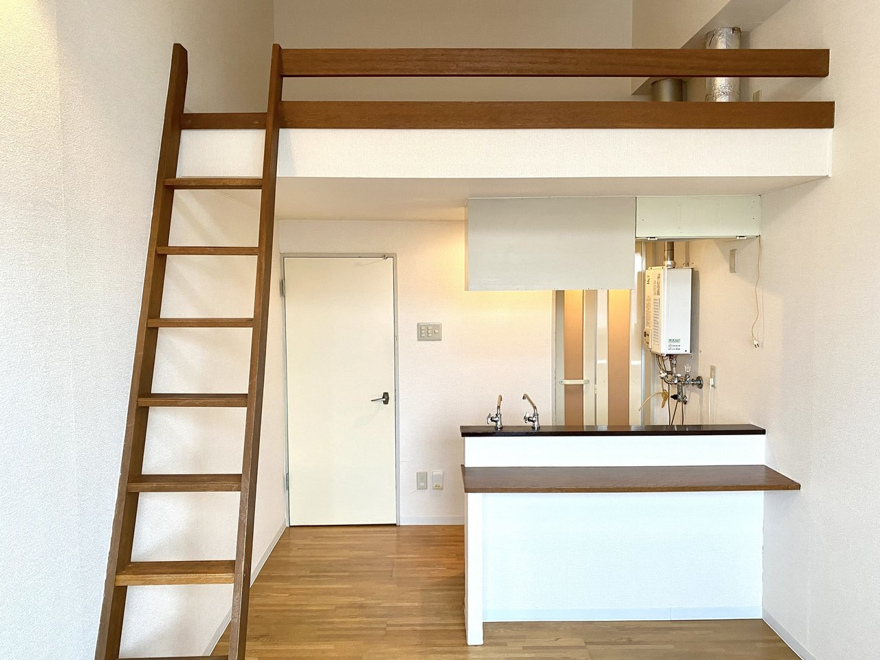 天井が高く、開放的。札幌市内・ロフト付きのワンルーム物件まとめ