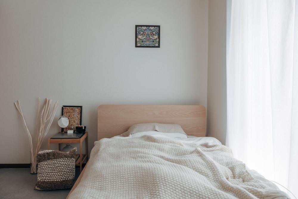 「雑多な感じのお部屋も憧れるのですが、絶対に掃除しきれないので。それもあってなるべくモノは少なくして色でお部屋のアクセントをつけられるようにしています。」
