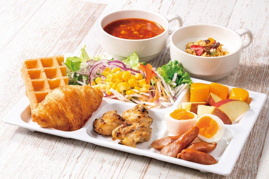 コンフォートホテルは、全国どこでも朝食無料が魅力のホテル。北は北海道から、南は沖縄まで。