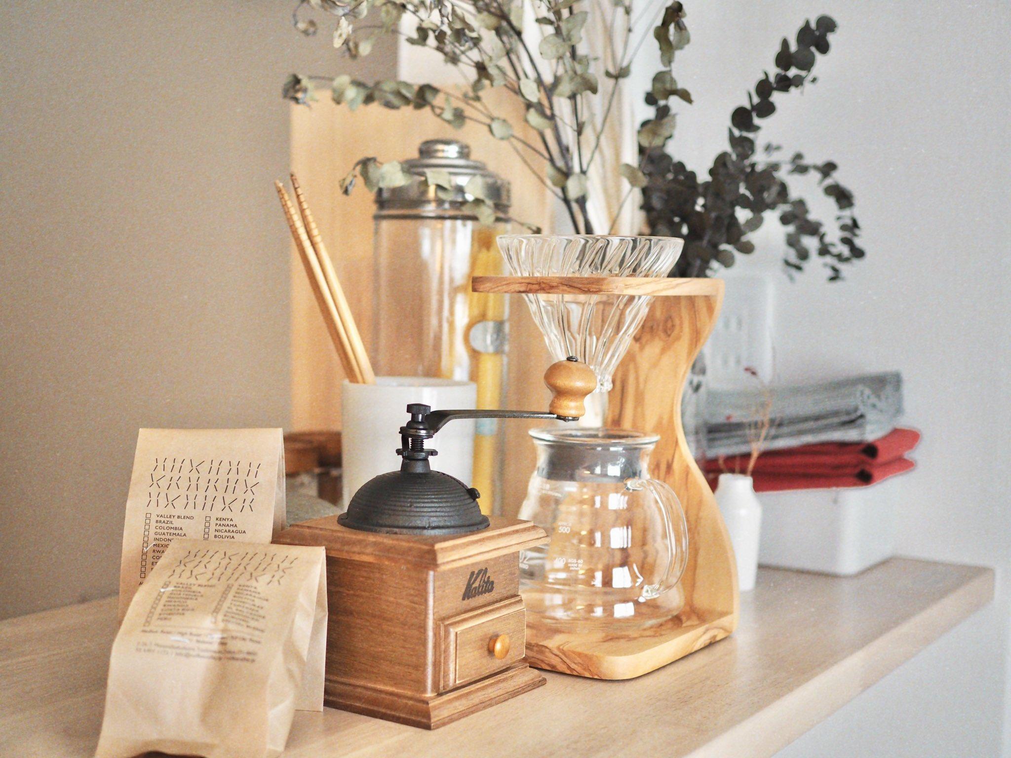 (Kalitaのコーヒーミルと、スタンドのセット/約6,000円