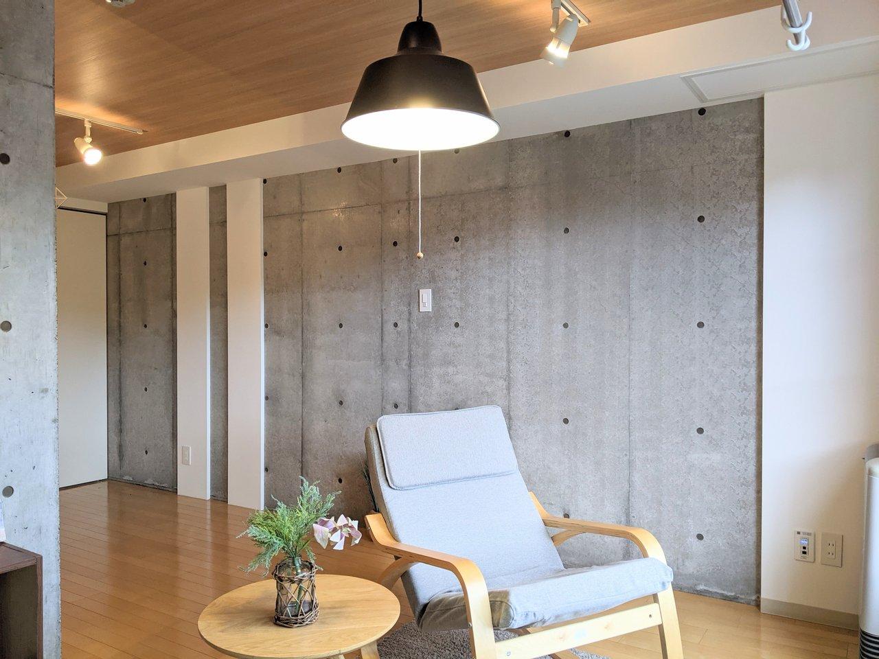 部屋をクールな印象に。札幌・コンクリート打ちっぱなしのお部屋まとめ