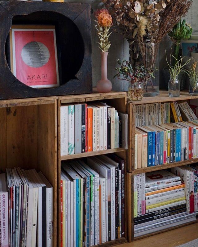 収めたい本のサイズに合わせて、ぴったりの収納に。