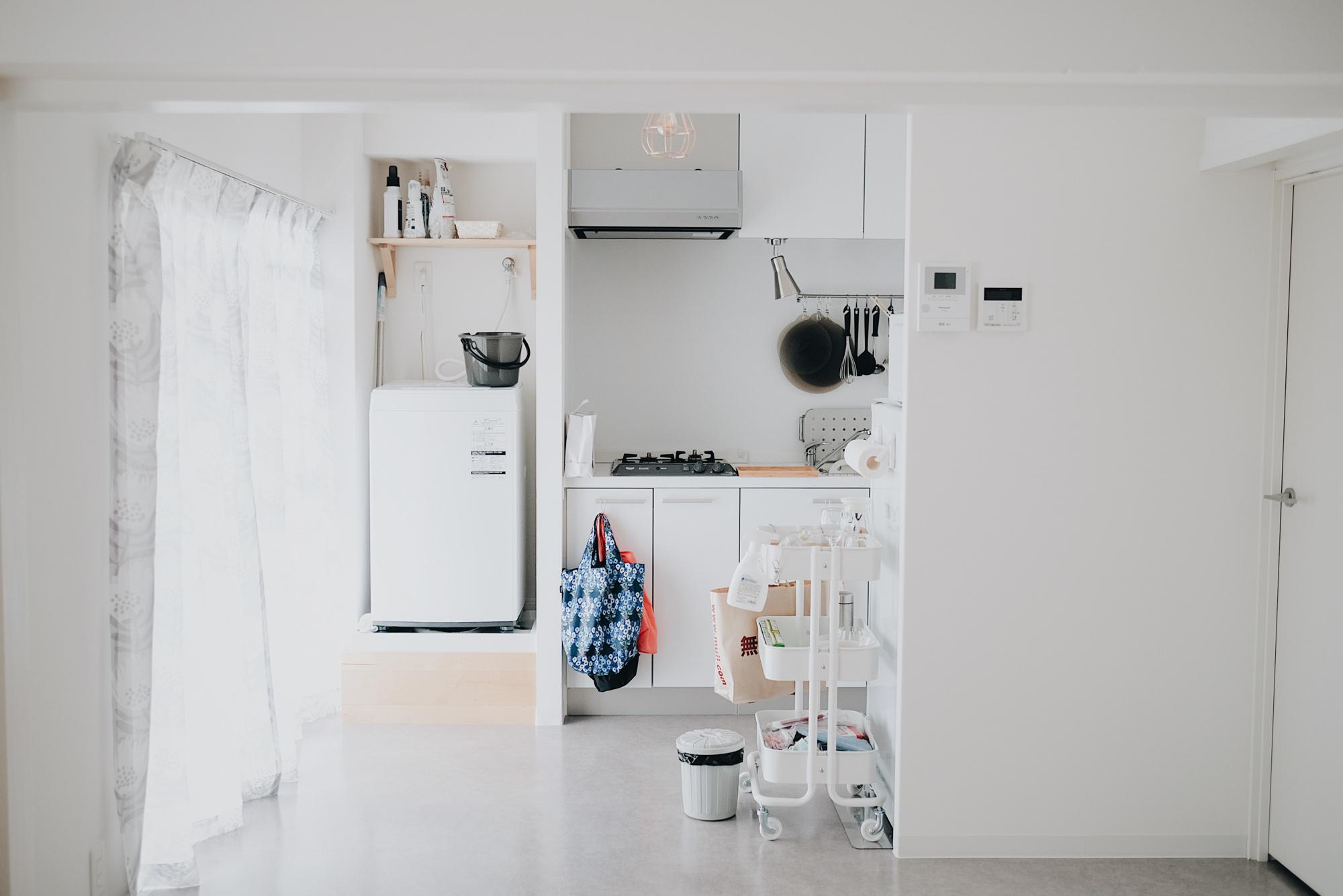 キッチンやバスルームなど水回りは全て新しいものに交換されているお部屋。