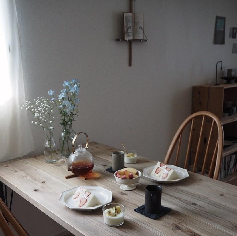 「おうちカフェ」をつくるために買ってよかった、3つのインテリアーshihoさんの#myfavoritesー