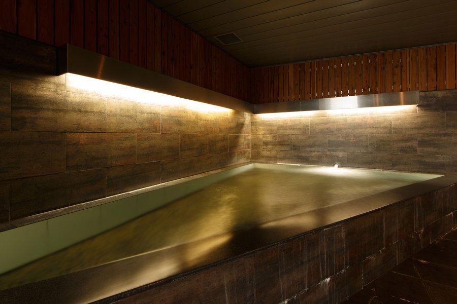 そしてうれしいのが、大浴場がついているということ。男女入れ替え制のため、時間を確認しながら悠々自適に過ごしたいですね。