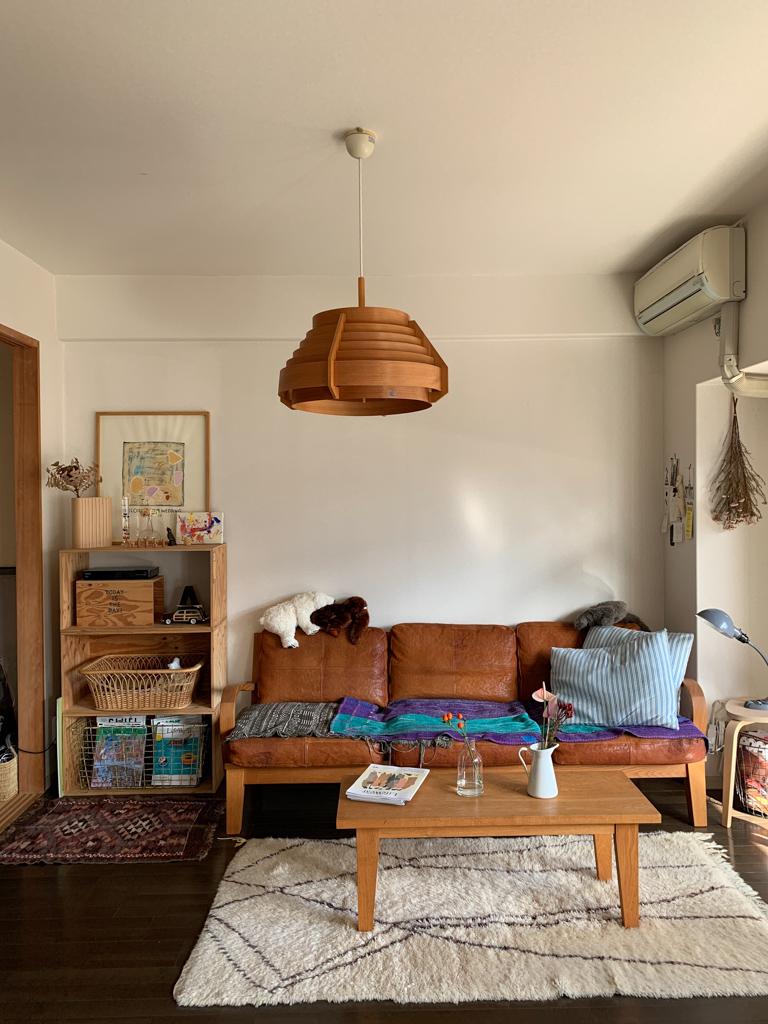 すごく高い買い物だったけれど、今眺めてみても「TRUCKの家具達は、本当にカッコいいなぁ〜」と惚れ惚れするのだそう。そんな運命のような出会い、うらやましいなぁ。
